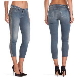Hudson Luna Super Skinny Crop Jeans 25